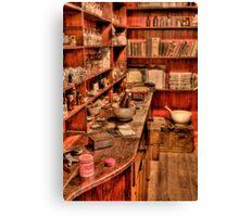 The Medicine Room Canvas Print