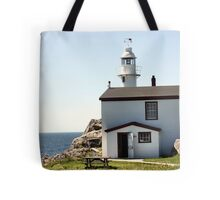 Lobster Cove Head Lighthouse Rocky Harbor Tote Bag