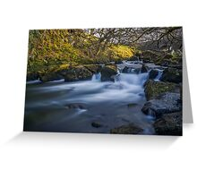 Nant Ffrancon Pass River Greeting Card