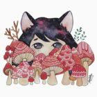 Mushrooms by jessthechen