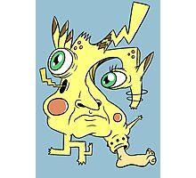 Effed Up Pikachu Photographic Print