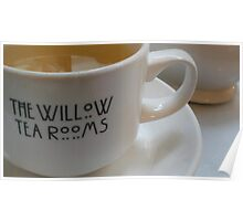 The Willow Tea Rooms, Glasgow Poster