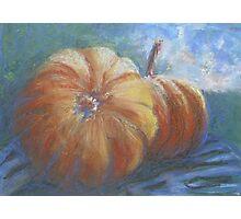 Plump Pumpkins Photographic Print
