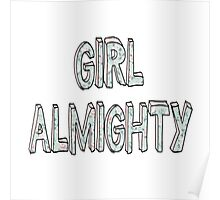 Girl Almighty - One Direction   Poster