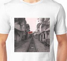 Rail Track, Hanoi in Vietnam. Unisex T-Shirt