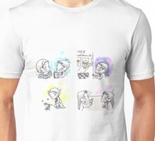 Castiel - Thinking In Colors Unisex T-Shirt