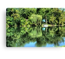 Willow on The River Canvas Print