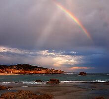 Rocks and Rainbow by Peter Hammer