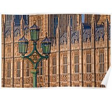 House of Parliament. Detail. Poster
