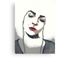 This pritty one))) Canvas Print