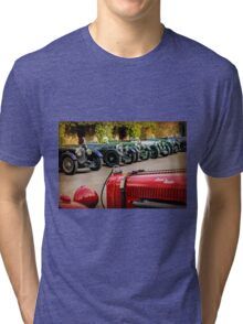 Vintage Aston Martins.  Tri-blend T-Shirt