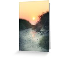 Dunes of Glory ~ Cape May, NJ Greeting Card