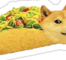 Taco Doge Sticker