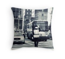 New York Drivers Throw Pillow