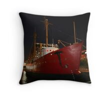 Nighttime Nautical Throw Pillow