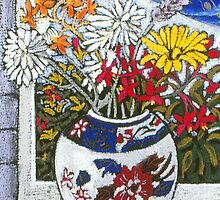 daisies in the ginger jar by maria paterson