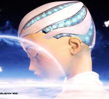 A Cyborg Dreams by Junior Mclean