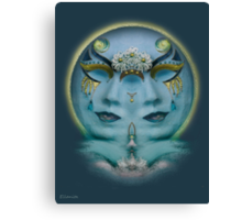 Gemini Full Moon   Canvas Print
