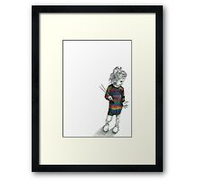 Yarn. Framed Print