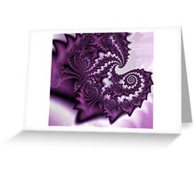 A Layer of Lavander Fairydust Greeting Card