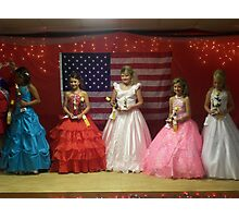 Pike Co Beauty Pageant 10-12yro winners Photographic Print