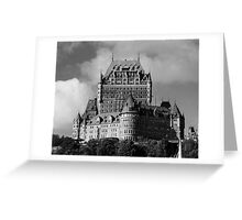 Le Château Frontenac Greeting Card
