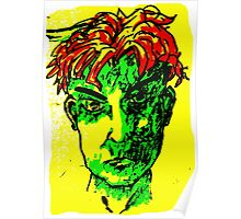 Red Head Punk Poster