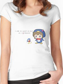 Love Penguins Women's Fitted Scoop T-Shirt
