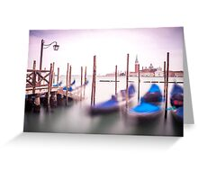 St Mark's Square, Venice Greeting Card