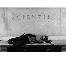 Bum, Museum of Science, New York, New York Photographic Print