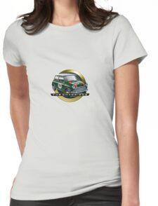 Mini green Womens Fitted T-Shirt