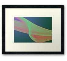 smoke Leaf Framed Print