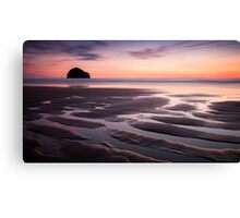 Trebarwith Strand, Cornwall Canvas Print