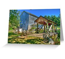 Beckman's Mill Greeting Card