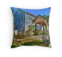 Beckman's Mill Throw Pillow
