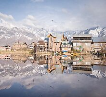 Calm before a storm - Dal Lake, Kashmir by crowdedstudios