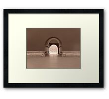 Peacefulness-Tiananmen Square/Forbidden City Framed Print