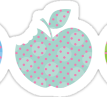 APPLE TRIO 3 Sticker