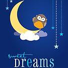 OWL SERIES :: sweet dreams 2 by Kat Massard