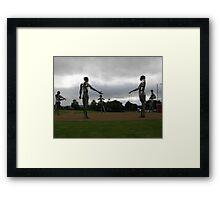 Heavy Metal-  The Tinnies -Strabane Tyrone Ireland Framed Print