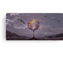 HAND OF THE SORCERER Canvas Print