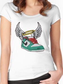 dunk from above Women's Fitted Scoop T-Shirt