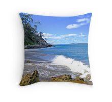 Secret Boronia Beach Throw Pillow