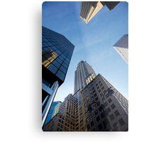 New York City Skyline Empire State Building Metal Print