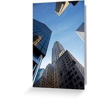 New York City Skyline Empire State Building Greeting Card