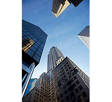 New York City Skyline Empire State Building Photographic Print