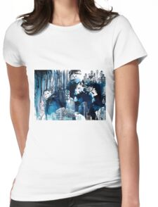 blue city Womens Fitted T-Shirt