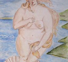 The Birth of Fat Venus... by Jonathan Katz