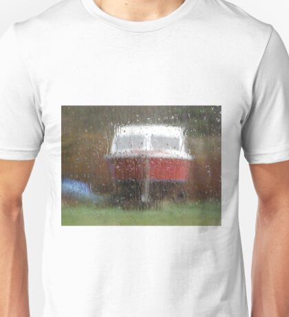 It Never rains in Southern California but it does here -  Dungloe Ireland Unisex T-Shirt