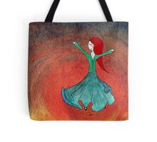 Sufi dervish dance Tote Bag